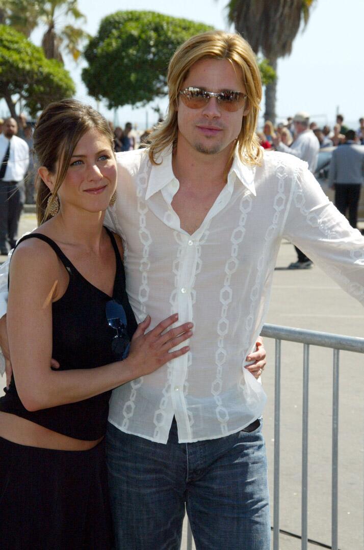Bild zu Brad Pitt, Frau, Jennifer Aniston
