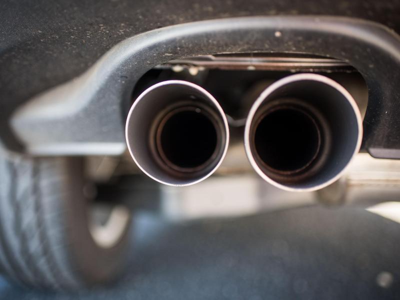 Bild zu VW-Auspuff