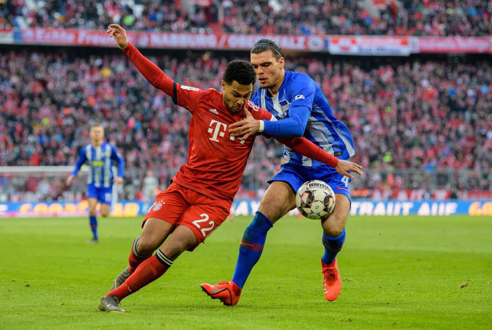 Bild zu Bundesliga, Hertha, Bayern München, FCB