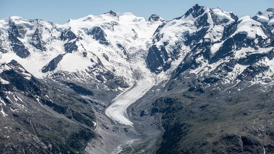 Künstlicher Schnee soll Gletscherschwund aufhalten