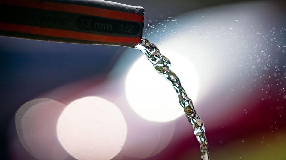 Kein unnötiger Wasserverbrauch
