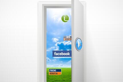 Navigator mit Facebook