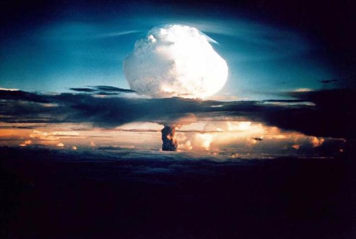 Bild zu Erste Wasserstoffbombe