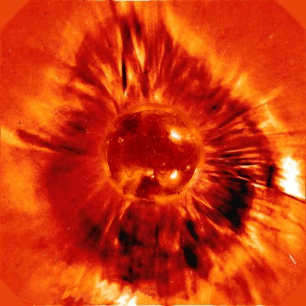 Bild zu Ein Sonnensturm wütet