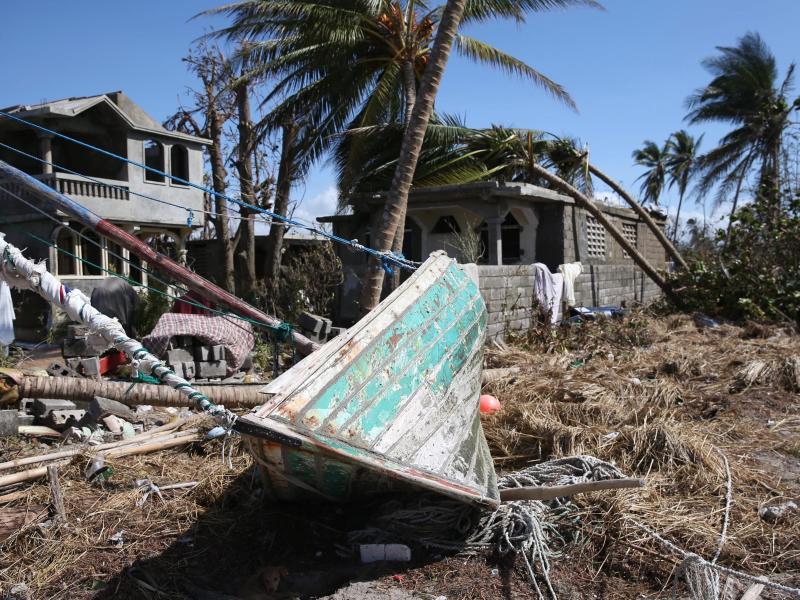 Bild zu Schäden auf Haiti