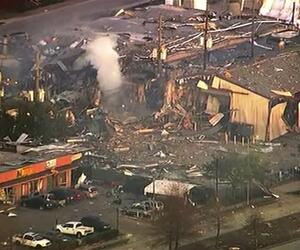 Explosion in Houston
