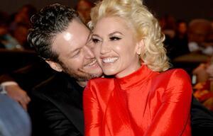 Gwen Stefani, Blake Shelton, verliebt, Kuss