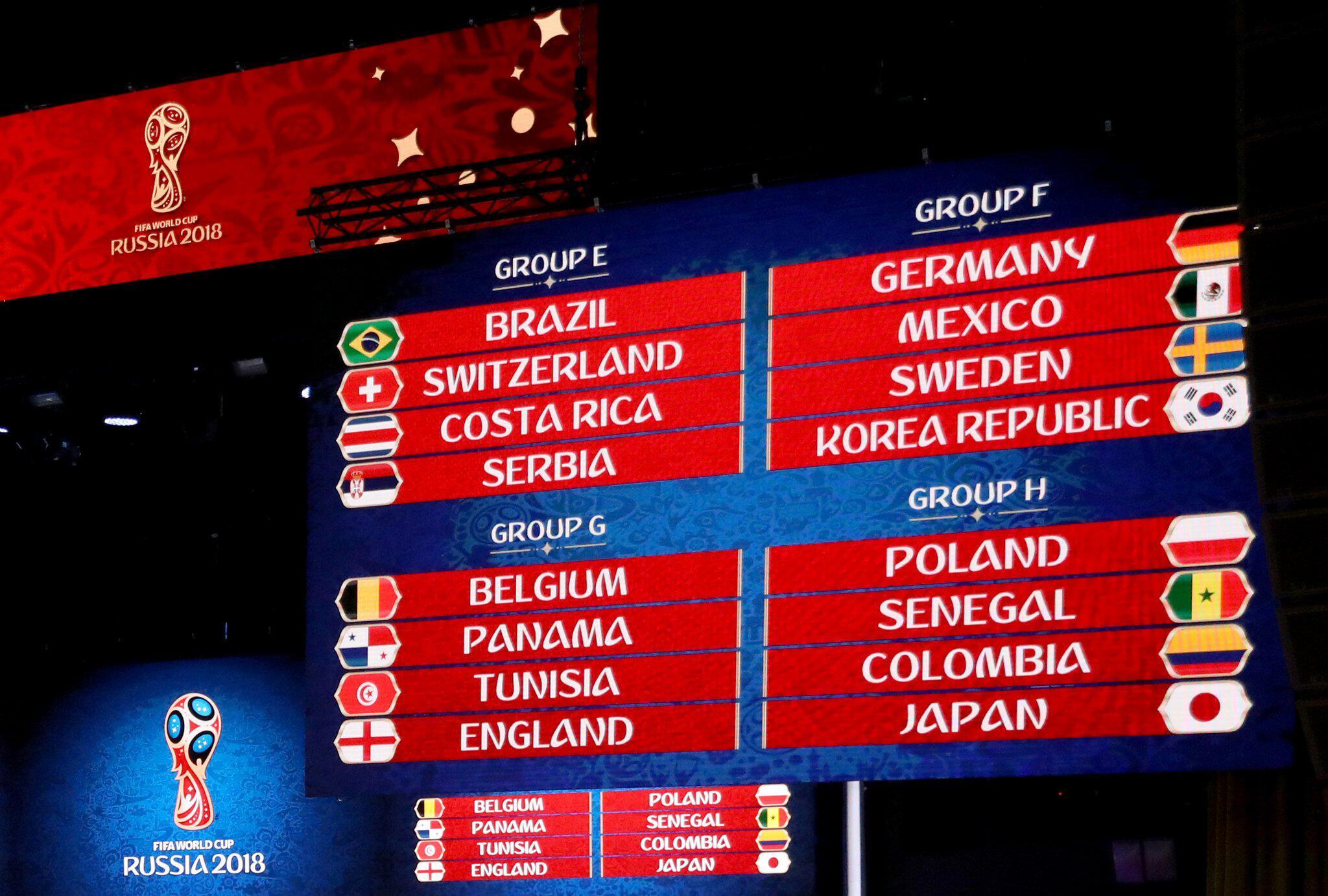Bild zu Fußball: WM-Auslosung