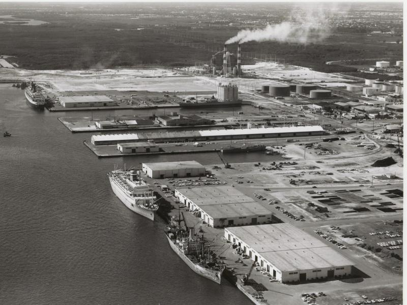 Bild zu Port Everglades im Jahr 1962