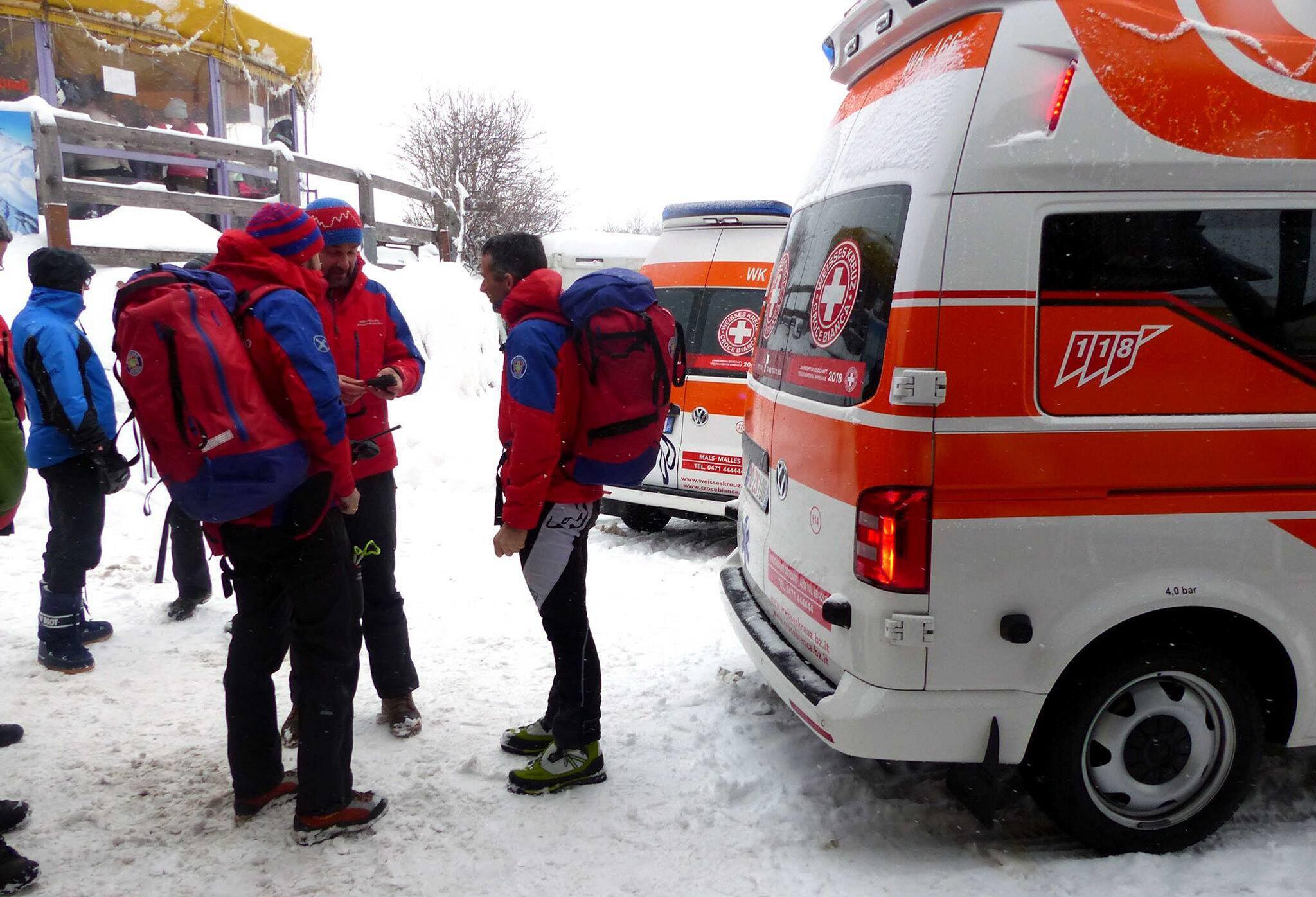 Bild zu Lawinenunglück in Südtirol, St. Valentin