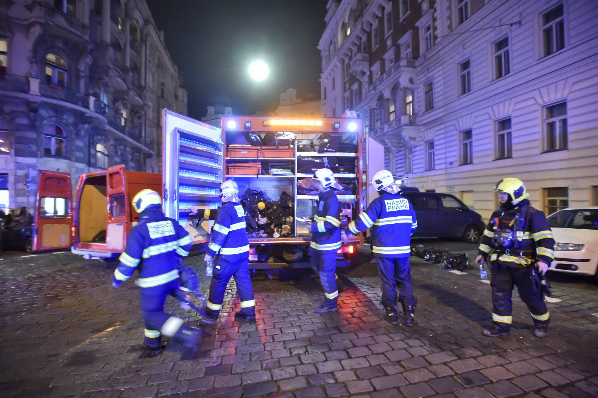Bild zu Hotelbrand in Prag
