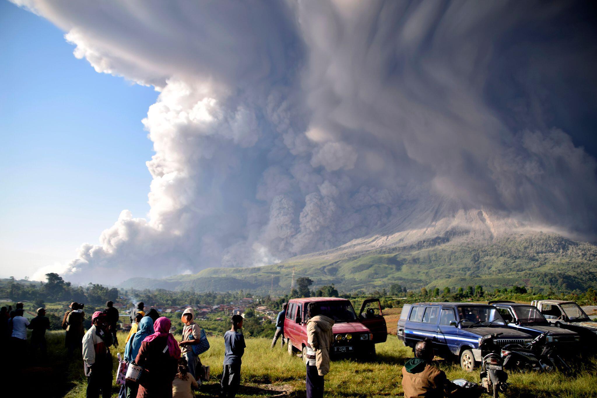 Bild zu Vulkanausbruch in Indonesien