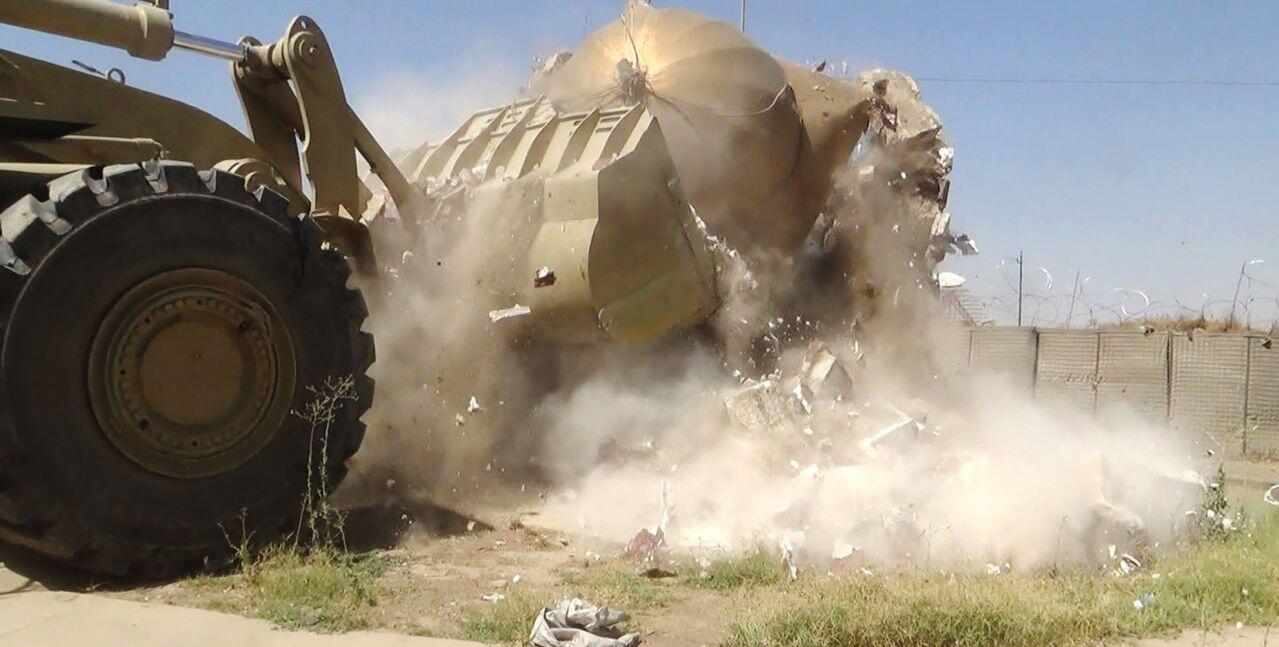 Bild zu Zerstörung durch den IS