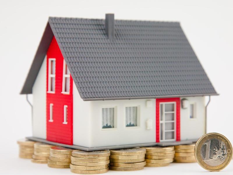 Bild zu Haus und Münzen