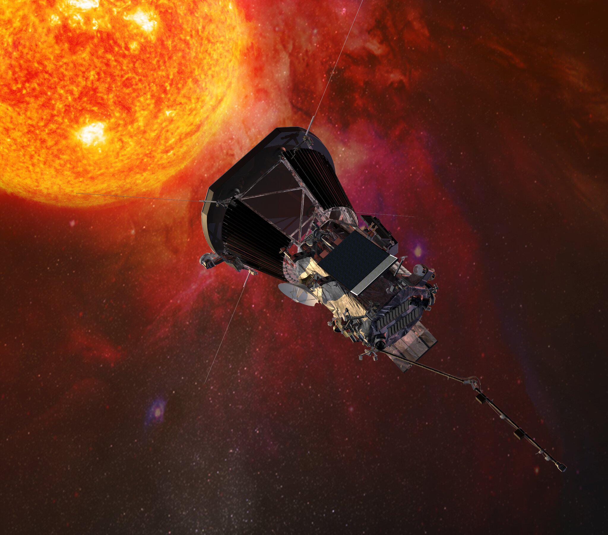"""Bild zu """"Parker Solar Probe""""-Sonde"""