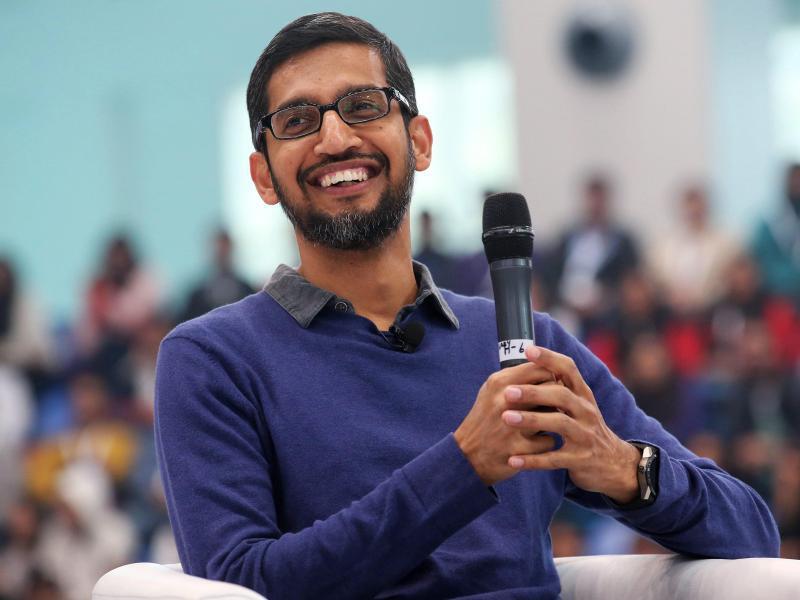 Bild zu Google-Chef Pichai
