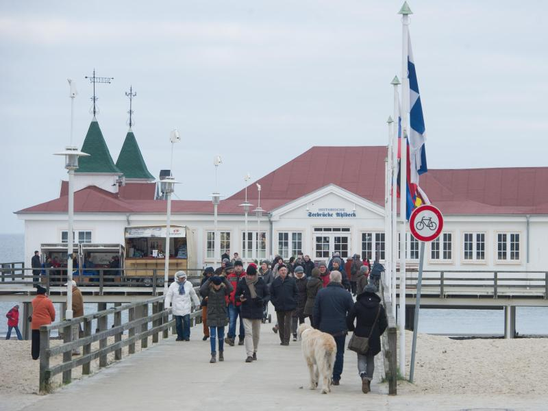 Bild zu Seebrücke Ahlbeck auf Usedom