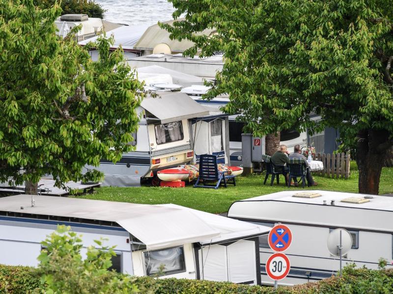 Bild zu Campingplatz am Bodensee
