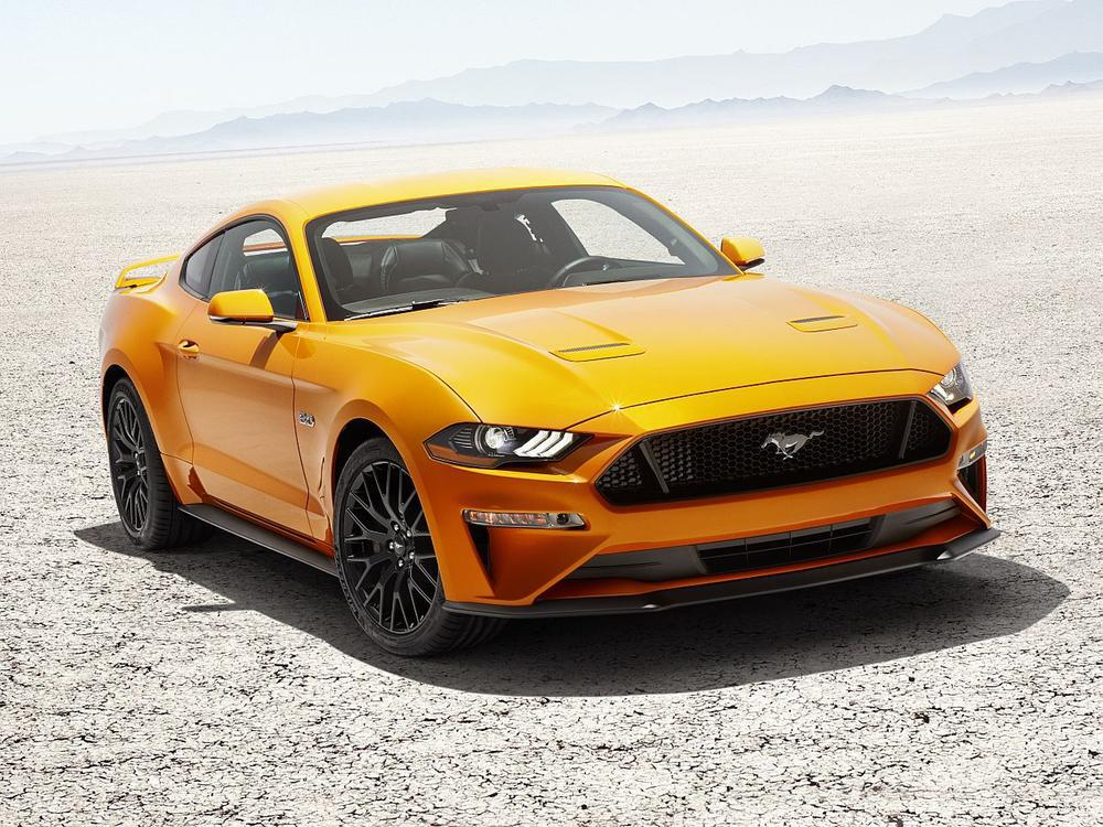 Bild zu Ford Mustang V8 GT mit Performace-Pack