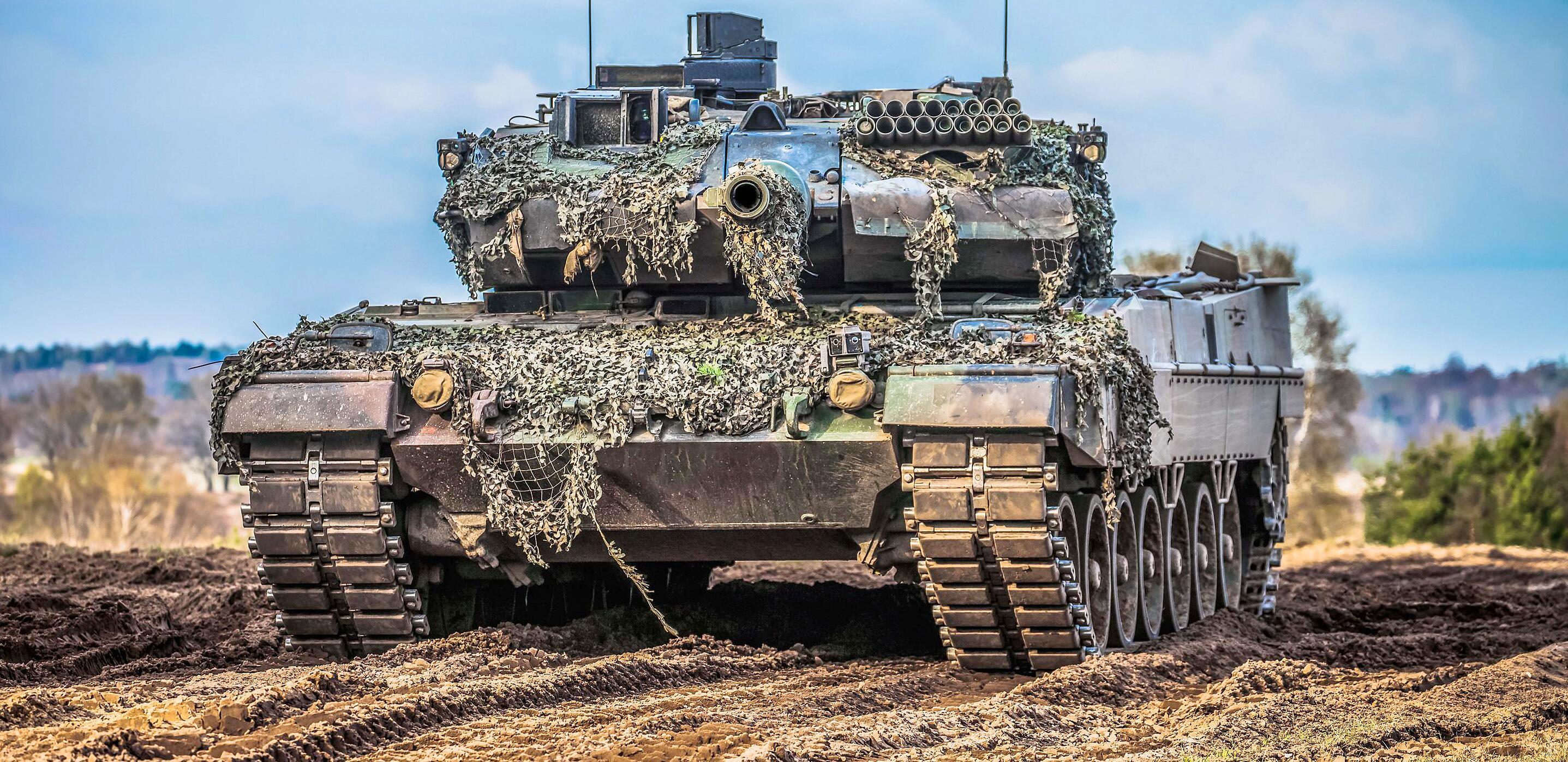 Bild zu Deutsche Waffenexporte