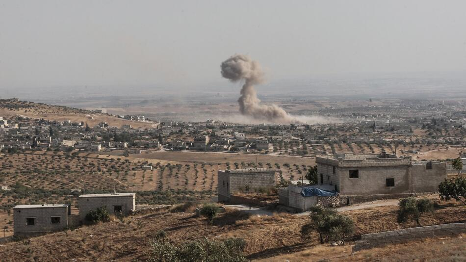 Luftangriffe in Syrien