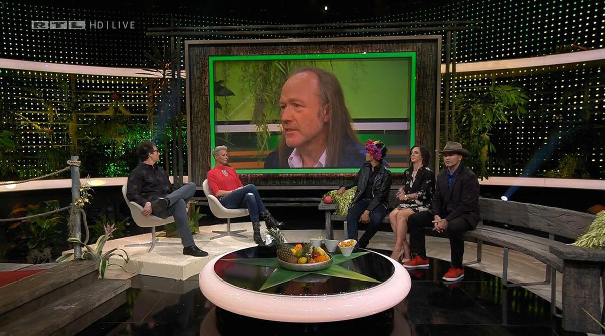 Bild zu Dschungelcamp, Nachspiel, RTL, IBES, Daniela Büchner, Prince Damien, Sonja Zietlow, Daniel Hartwich