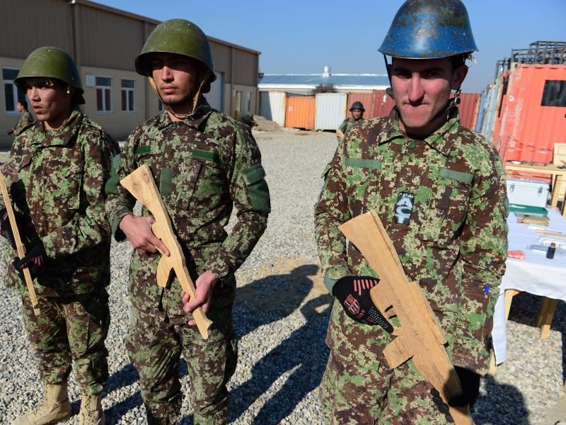 Bild zu Afghanische Soldaten