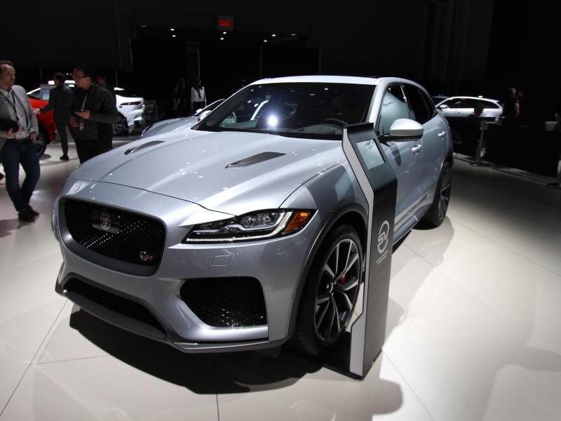 Bild zu Jaguar F-Pace SVR