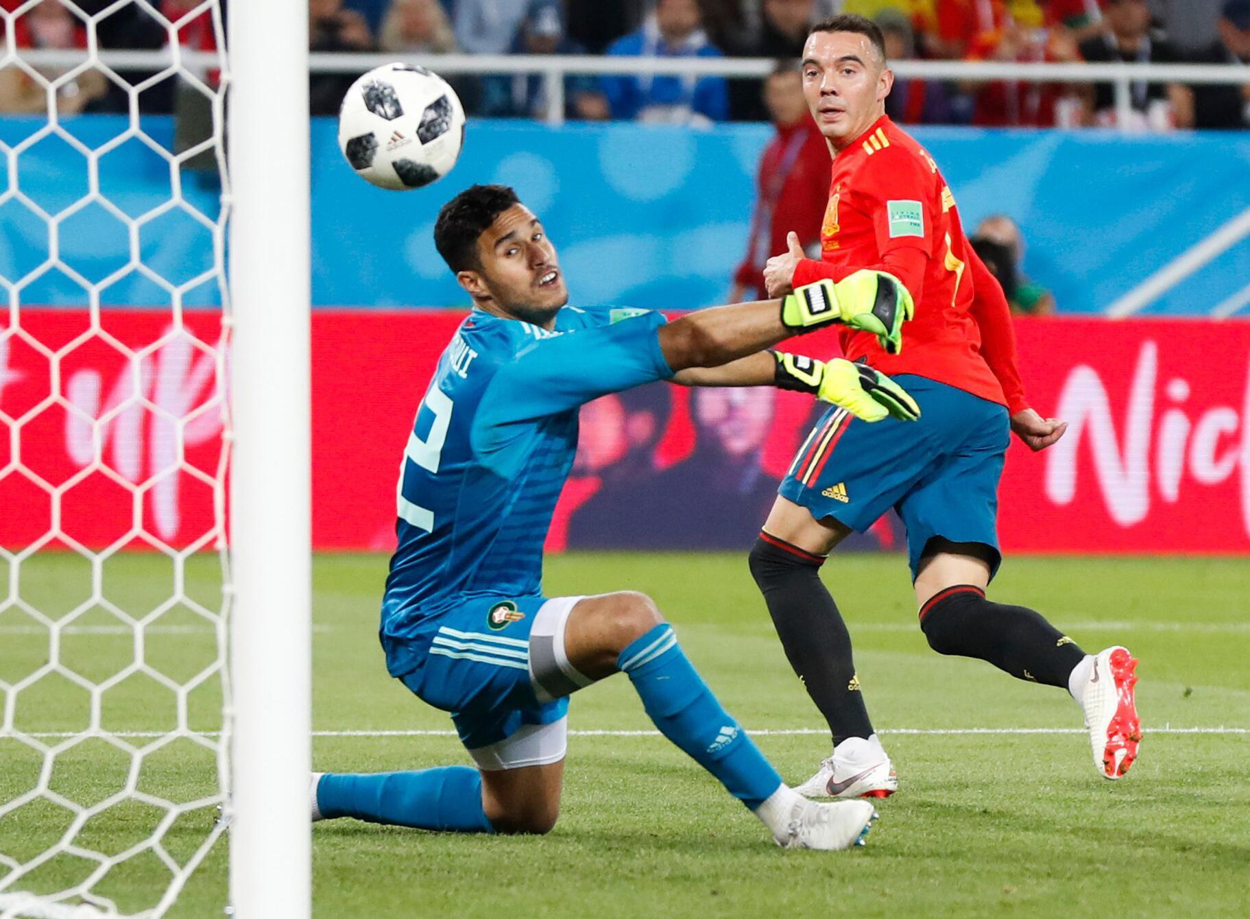 Bild zu WM 2018 - Spanien - Marokko