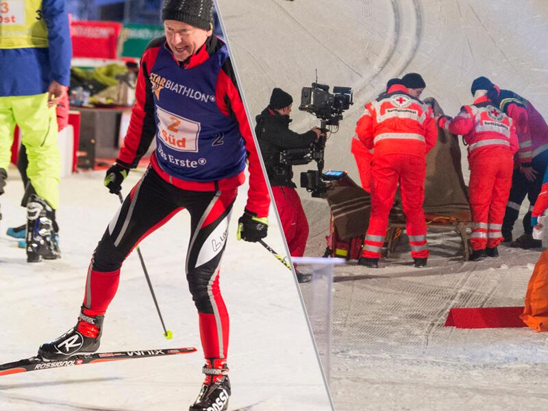 "Bild zu Miroslav Nemec beim ""Star Biathlon 2014"""