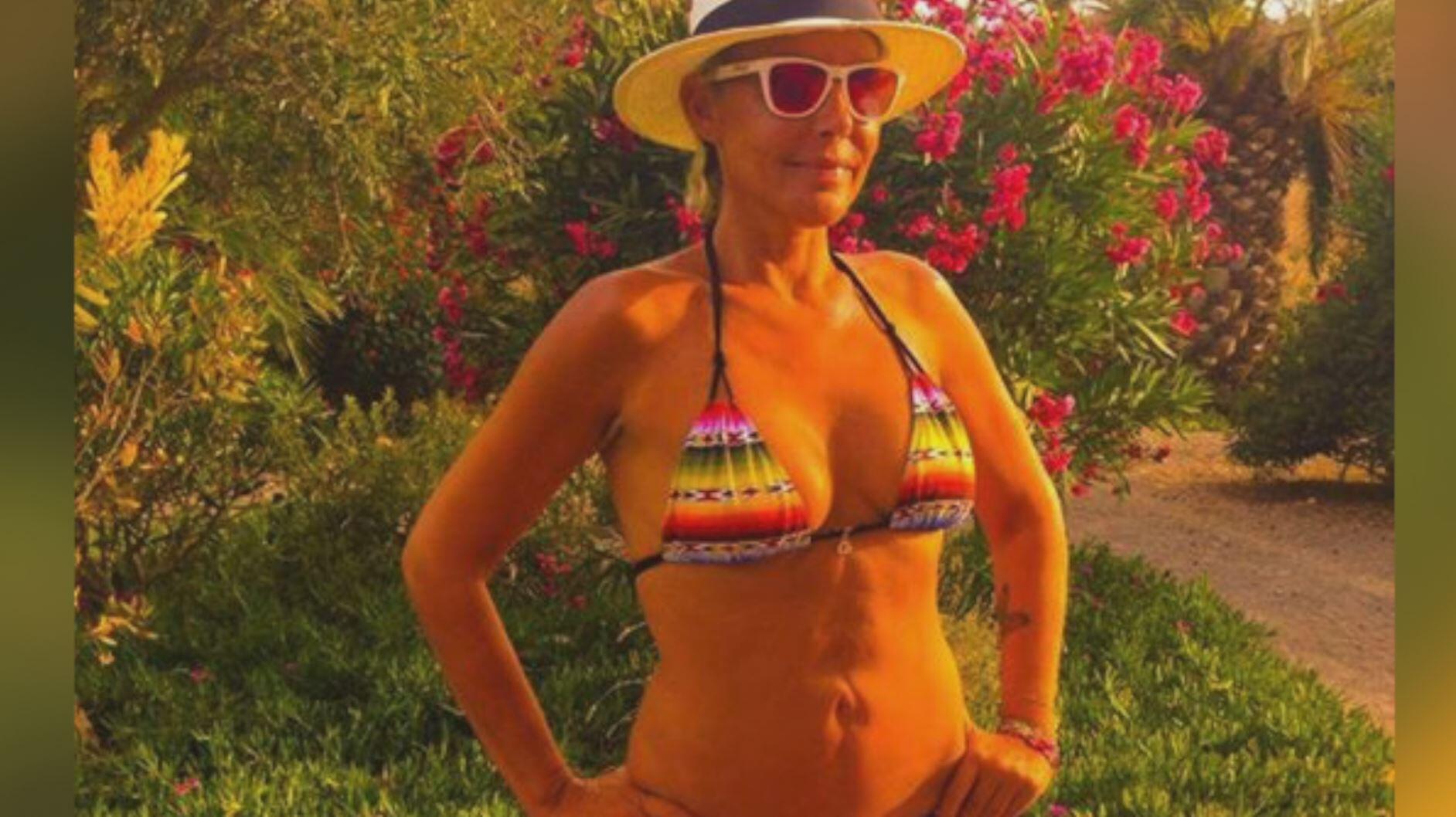 Bild zu Sexy Strand-Selfies: Natascha Ochsenknecht kennt alle Tricks