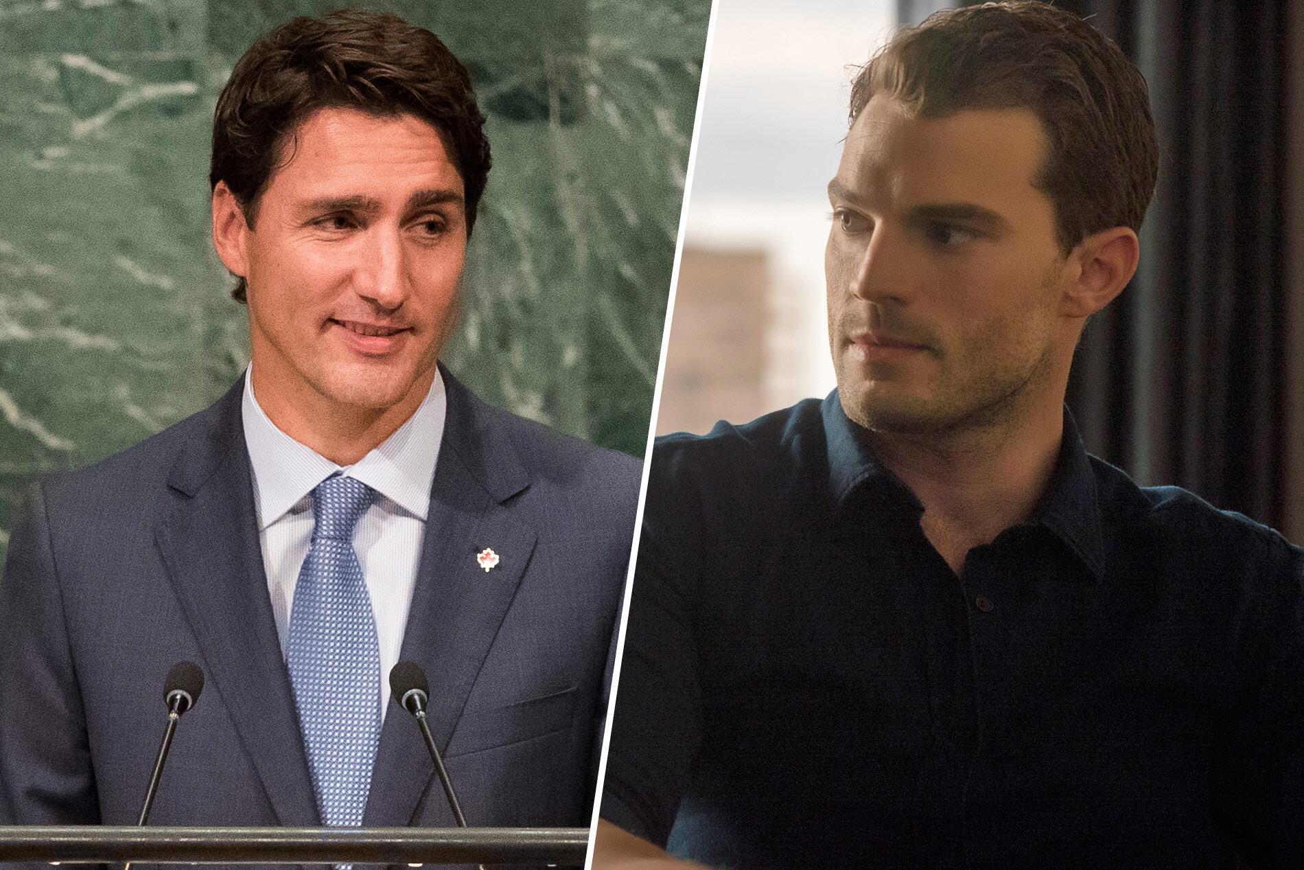 Bild zu Justin Trudeau, Jamie Dornan