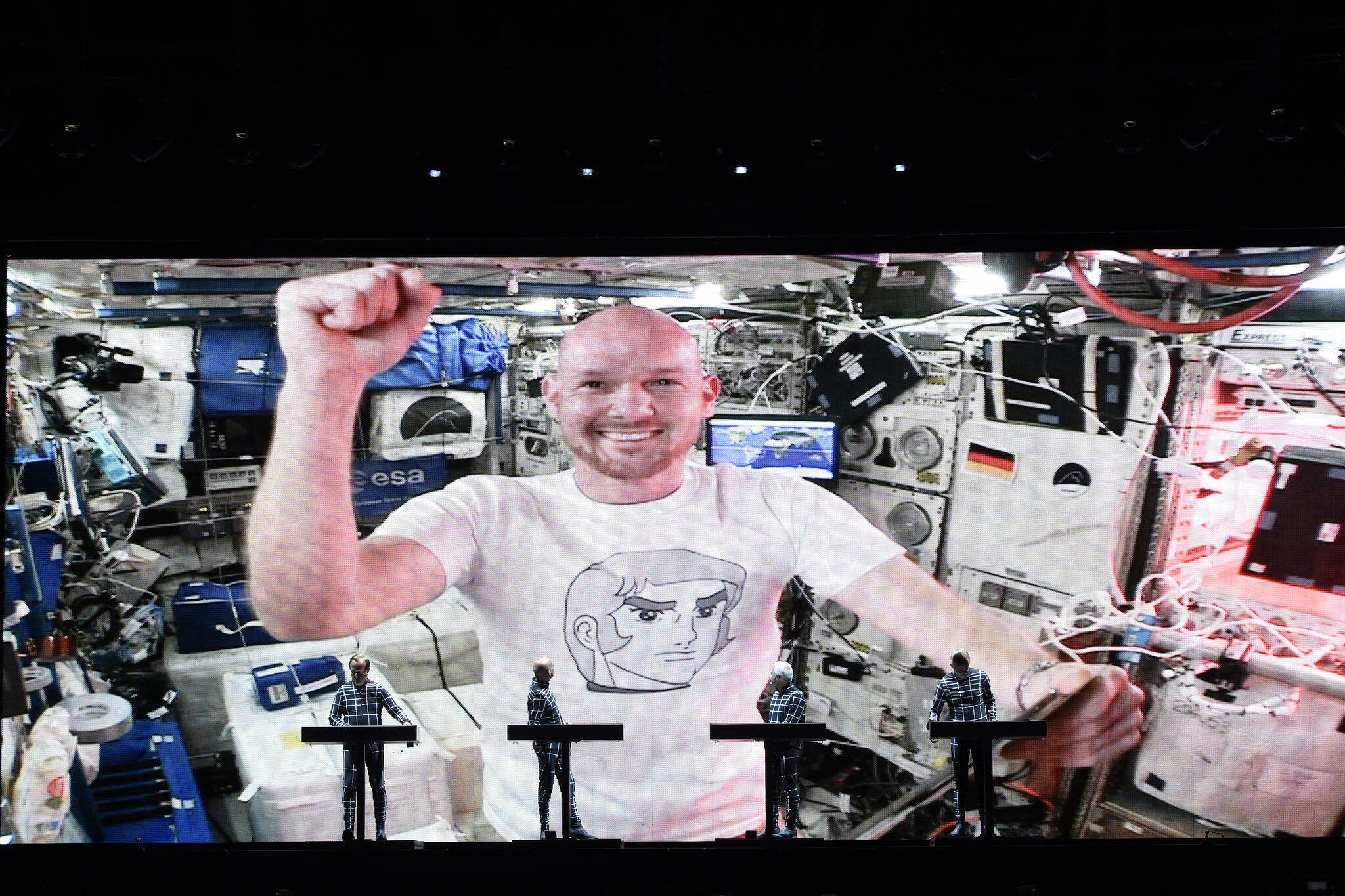 Bild zu Alexander Gerst auf der ISS