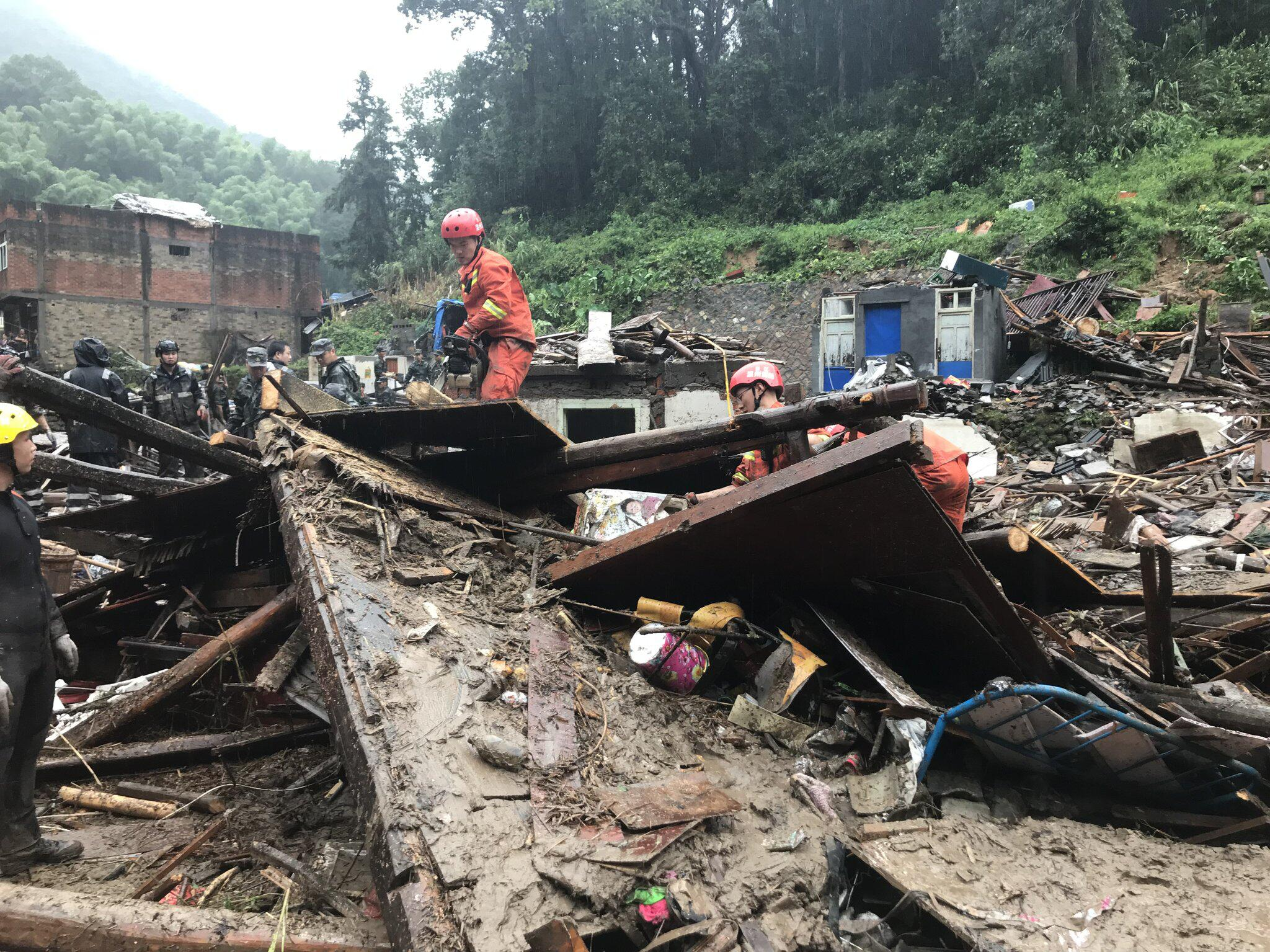 """Bild zu Taifun """"Lekima"""", China"""