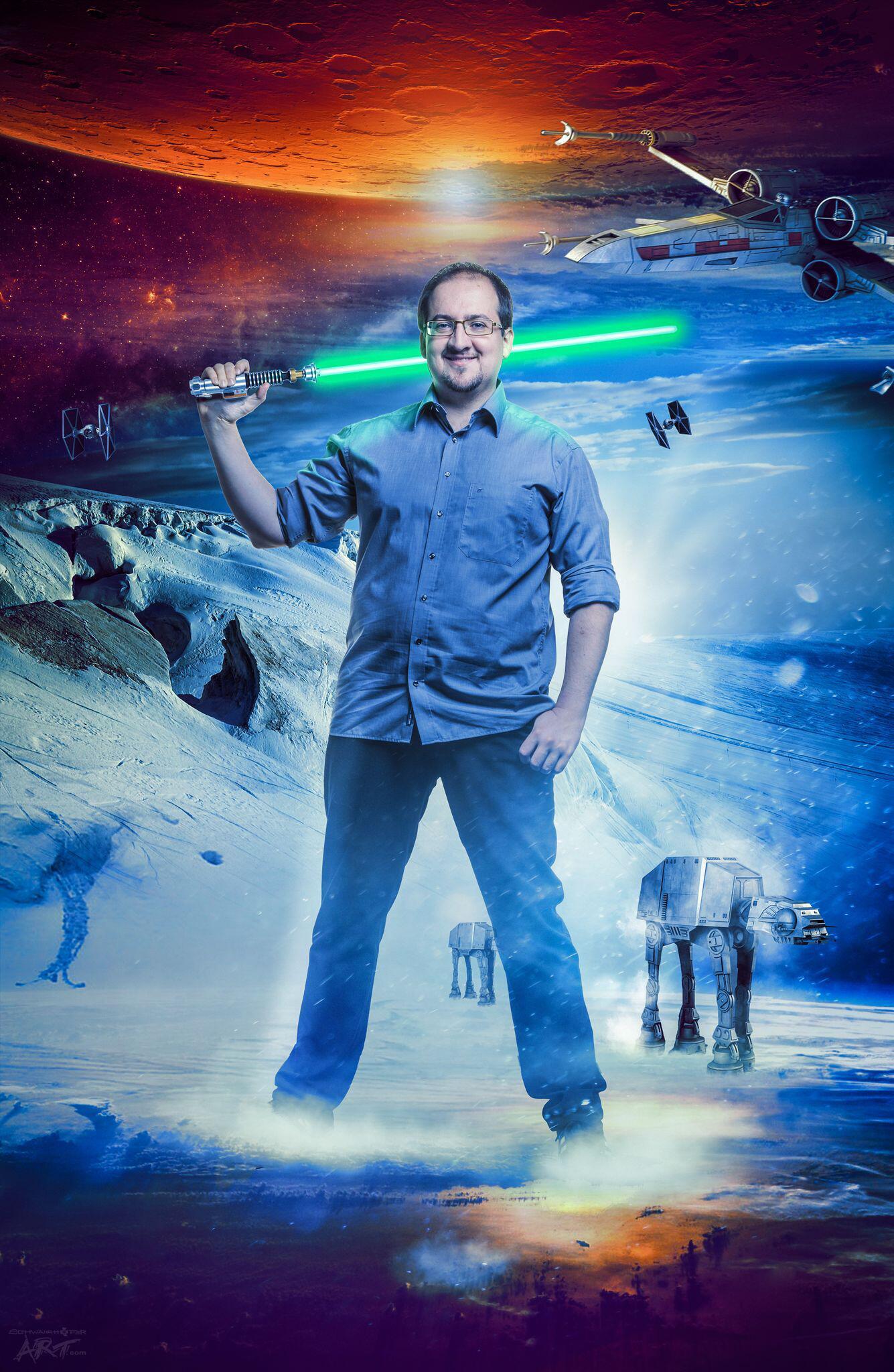 Bild zu Star-Wars-Experte Sascha Vogel