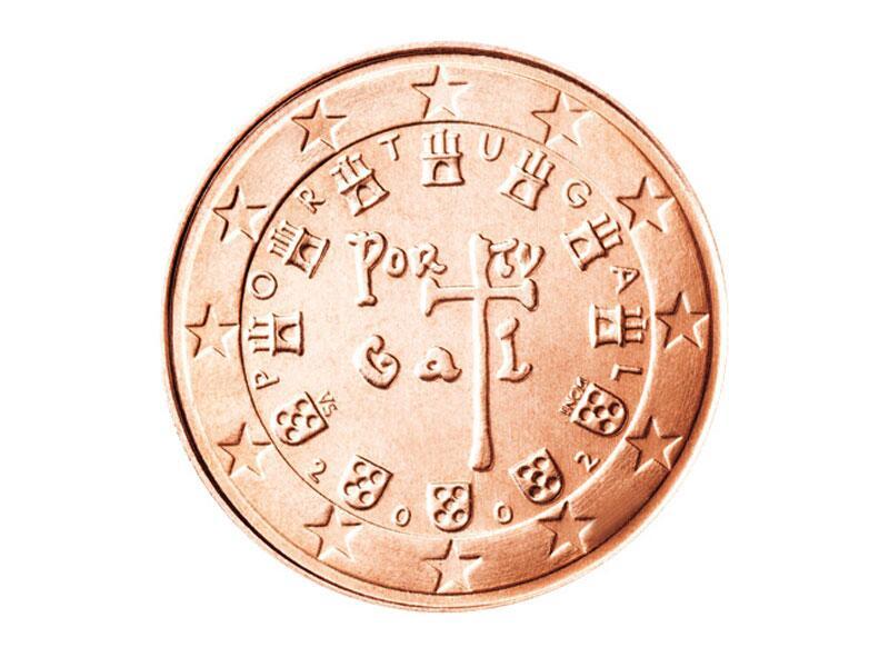 Bild zu 1-Cent-Münze aus Portugal
