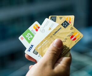 Kreditkarten von Privatunternehmen