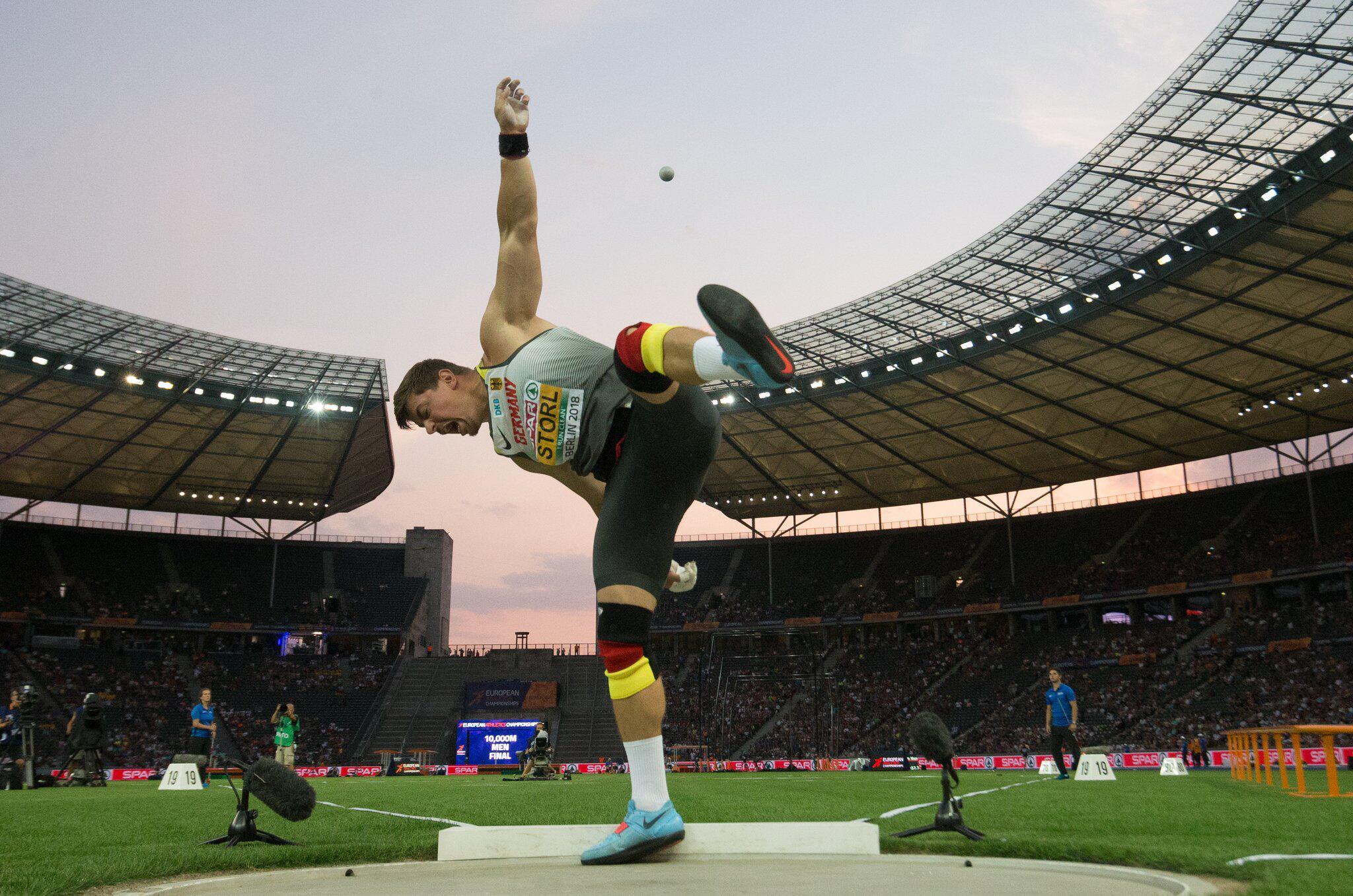 Bild zu European Championships - Leichtathletik