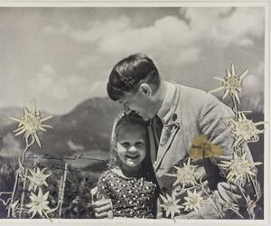 Foto mit Hitler und jüdischem Mädchen