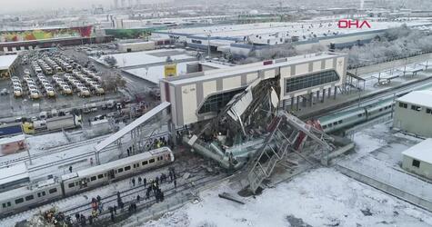 Zugunglück in Ankara