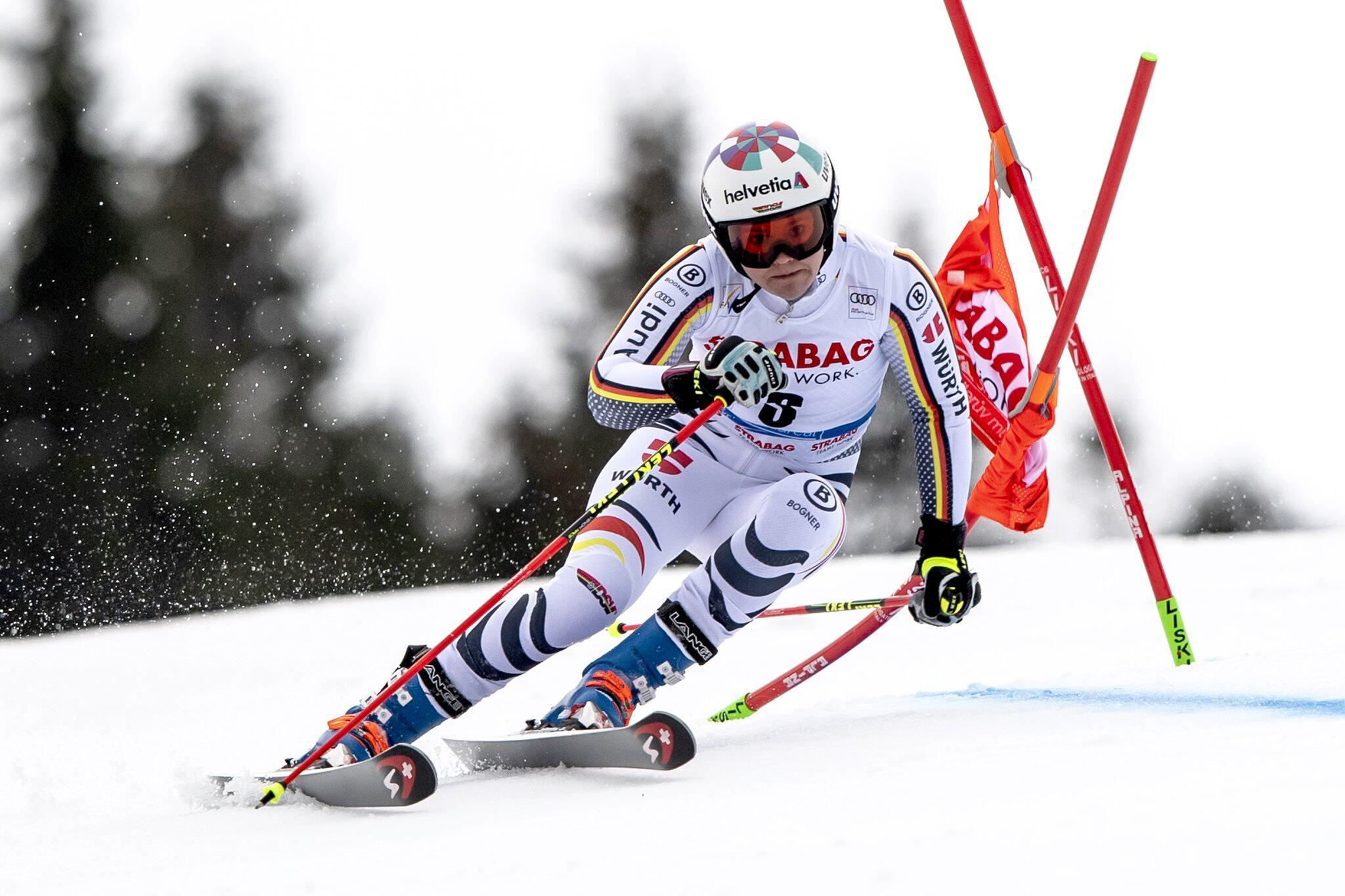 Bild zu Viktoria Rebensburg, Ski alpin, Ski, Weltcup, Spindlermühle, Riesenslalom