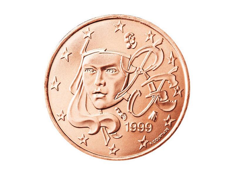 Bild zu 1-Cent-Münze aus Frankreich