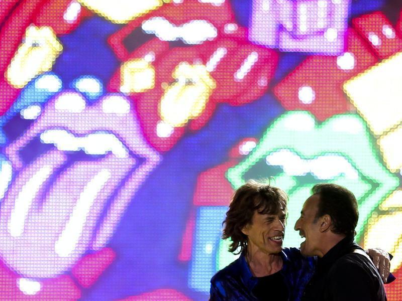 Bild zu Springsteen + Jagger