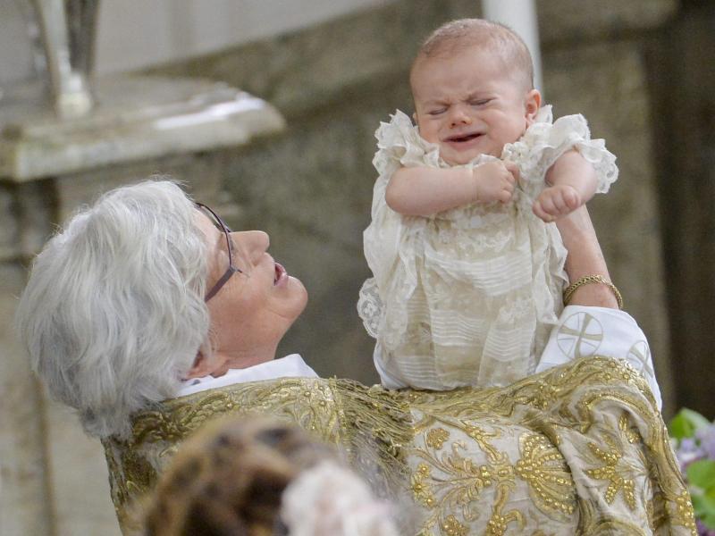 Bild zu Prince Oscar's christening
