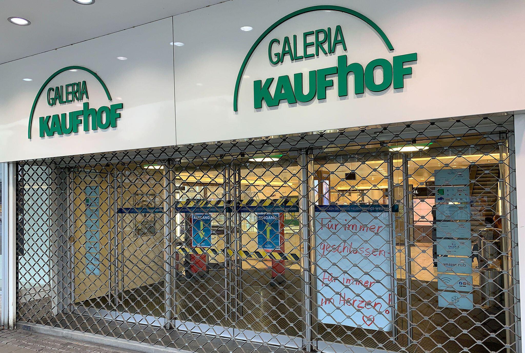 Bild zu Kaufhof Filiale in Essen geschlossen