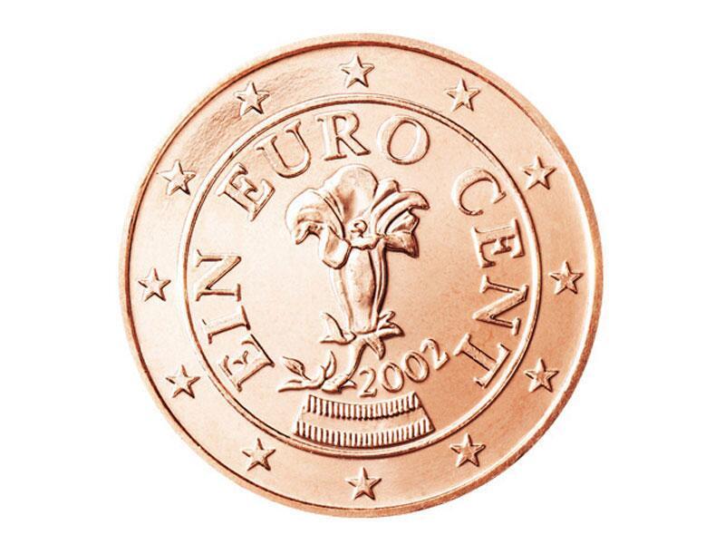 Bild zu 1-Cent-Münze aus Österreich