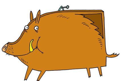 Das Bildschwein