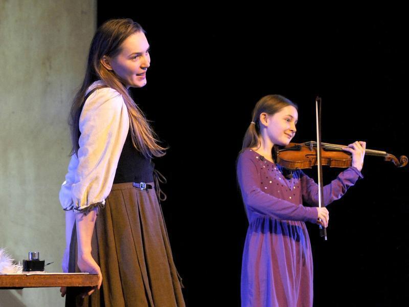 "Bild zu Alma Deutschers Oper ""Cinderella"""