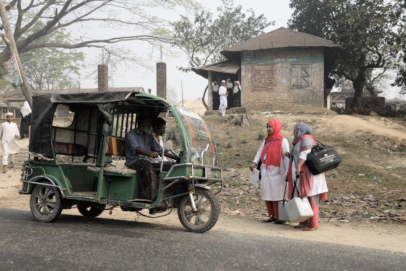 Bild zu Bangladesch, Impfen