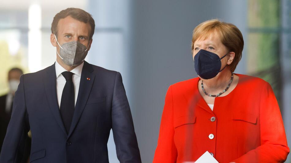 Treffen Merkel und Macron